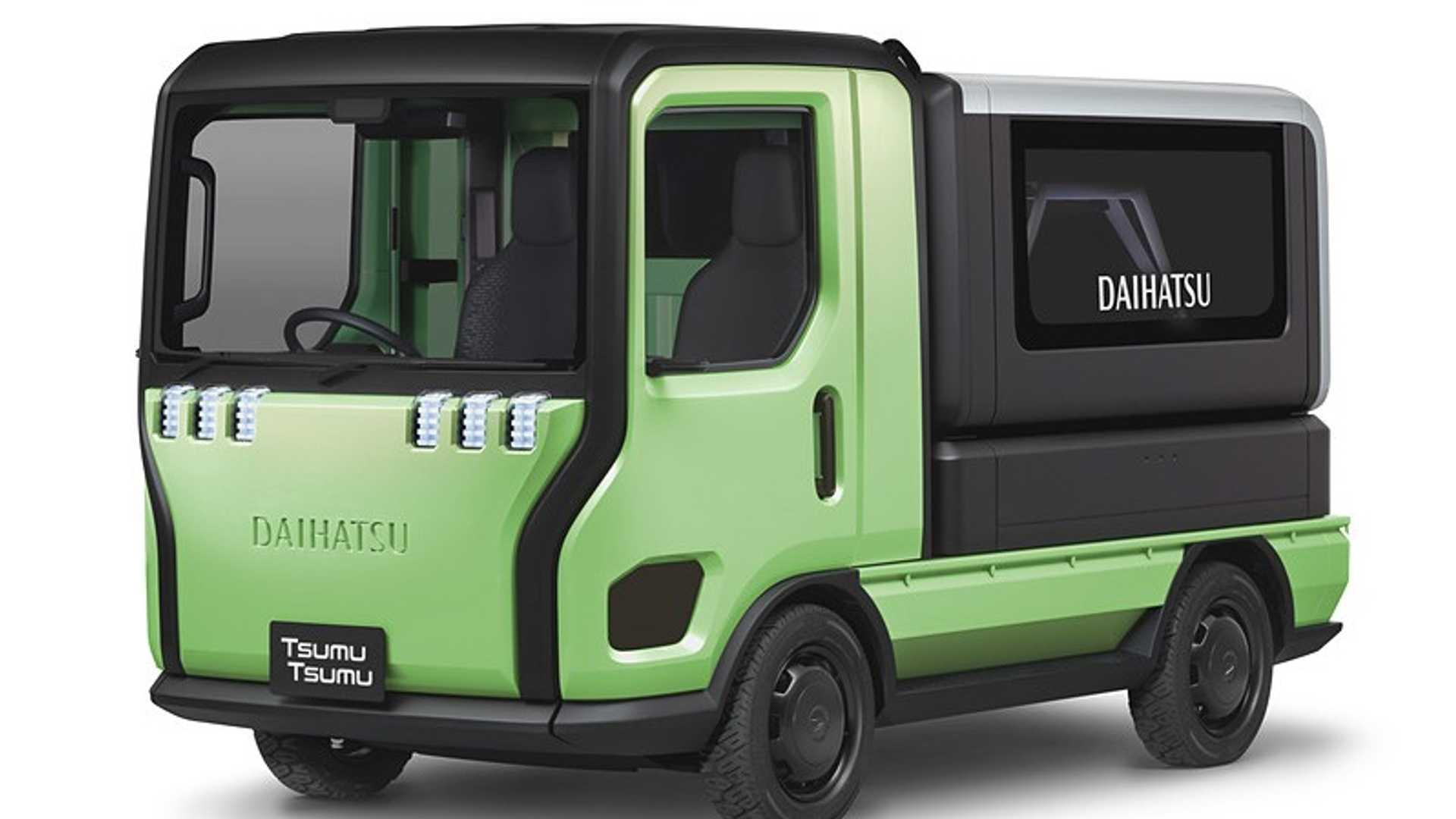 На Токийском мотор-шоу компания Daihatsu продемонстрирует четыре забавных концепт-кара.