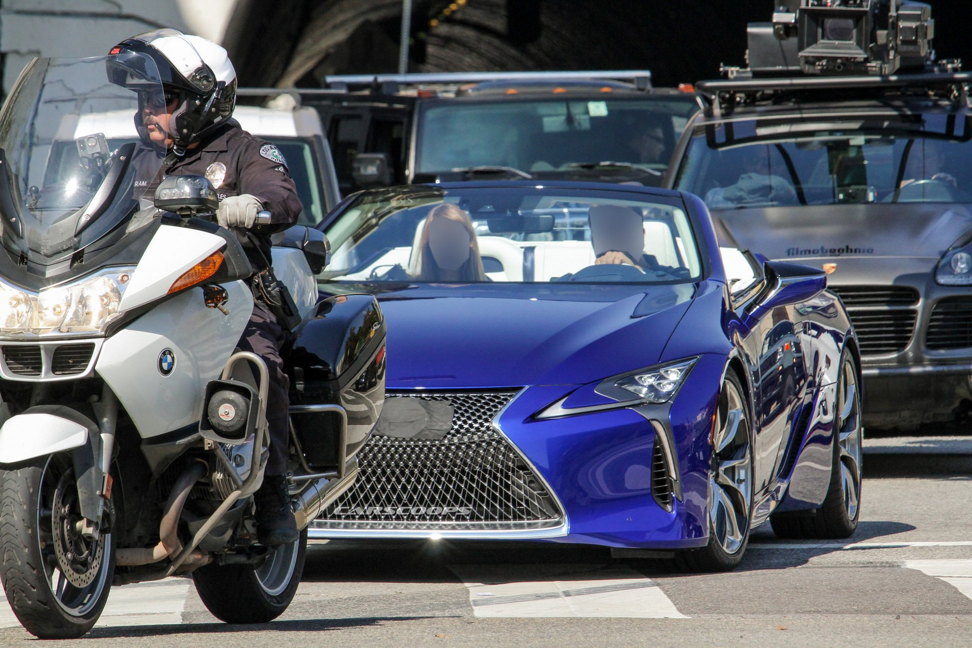 The open-top Lexus flagship is ready for its official debut at the Los Angeles Auto Show coming up in November. However, thanks to attentive car spotters, we no longer need to wait until then to see what it looks like.