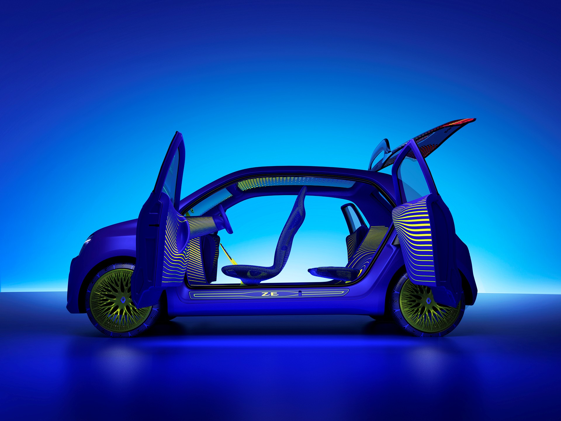 Renault says it will reveal the all-electric variant of its Twingo compact urban car within a year and a half from now.