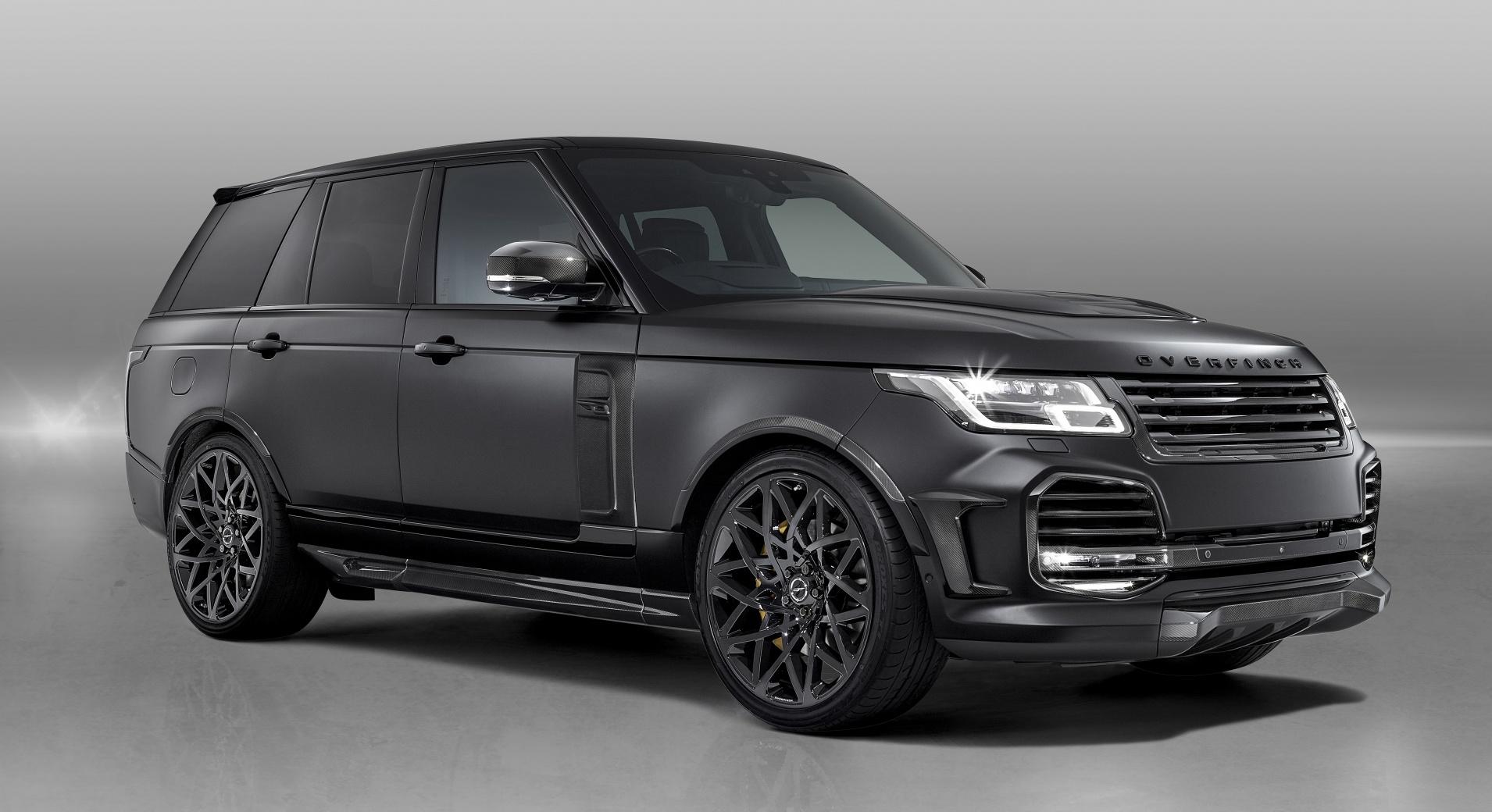 Британское тюнинг-ателье Overfinch представило проект Overfinch Velocity, построенный на базе Range Rover.