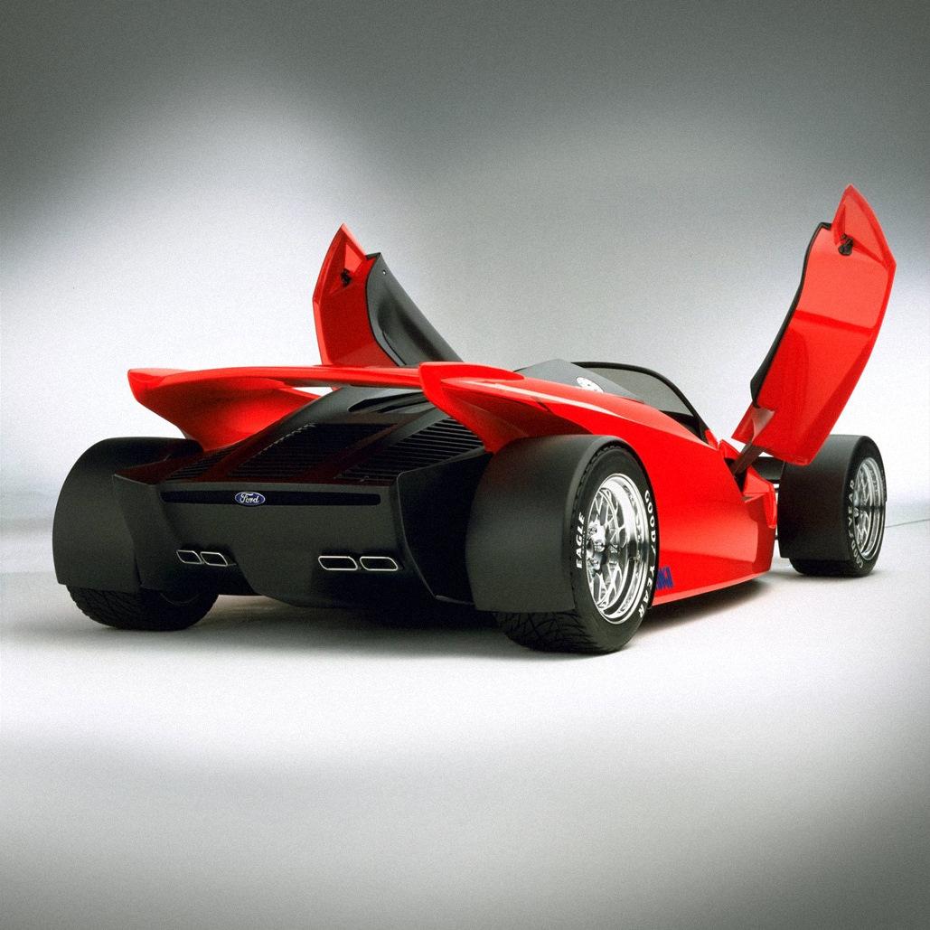 Концепт Ford Indigo с дизайном в стиле болидов серии IndyCar был создан в 1996 году всего в трёх экземплярах при содействии гоночной команды Reynard Motorsport.