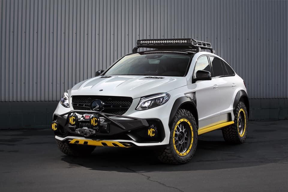 Еще в июне российская мастерская TopCar анонсировала боди-кит INFERNO 4×4² для Mercedes GLE Coupe? И вот, наконец, он поступил в продажу.