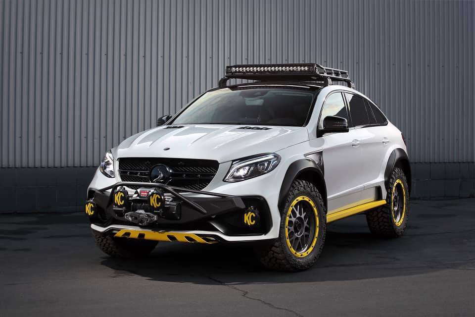 In June this year, Russian tuner TopCar said it was developing a new body kit for the Mercedes GLE Coupe, called the INFERNO 4×4². A few days ago, the kit finally became available.