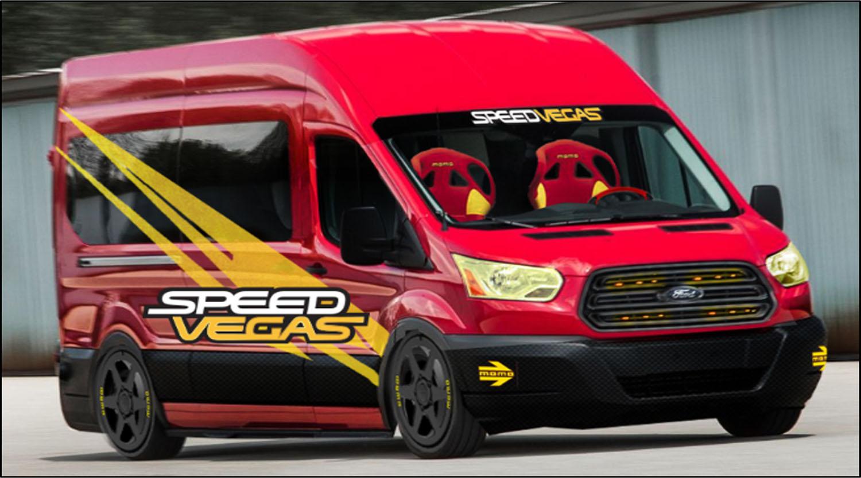 Компания Ford представит на тюнинг-шоу SEMA множество новинок, среди которых – гусеничный и гоночный микроавтобусы Transit .