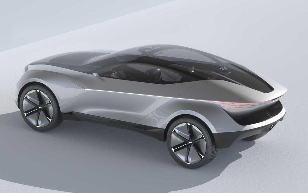 На выставке CIIE в Шанхае южнокорейский автопроизводитель Kia презентовал электрический концепт Futuron с гладким двухдверным кузовом и гигантскими «катками».