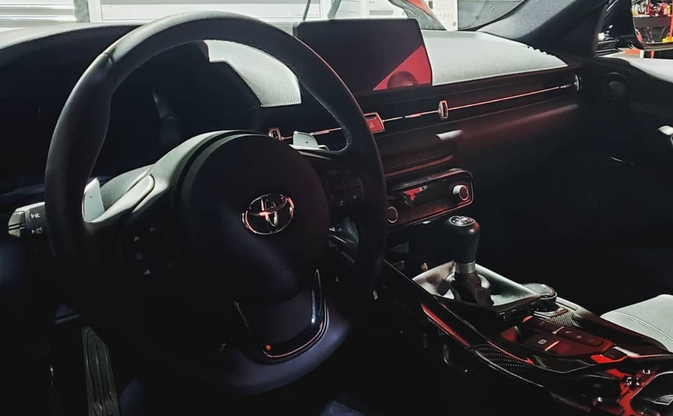 European Auto Group has come to the SEMA expo in Las-Vegas bringing along the first MkV Toyota Supra to pack a manual transmission. Let us have a closer look at it.