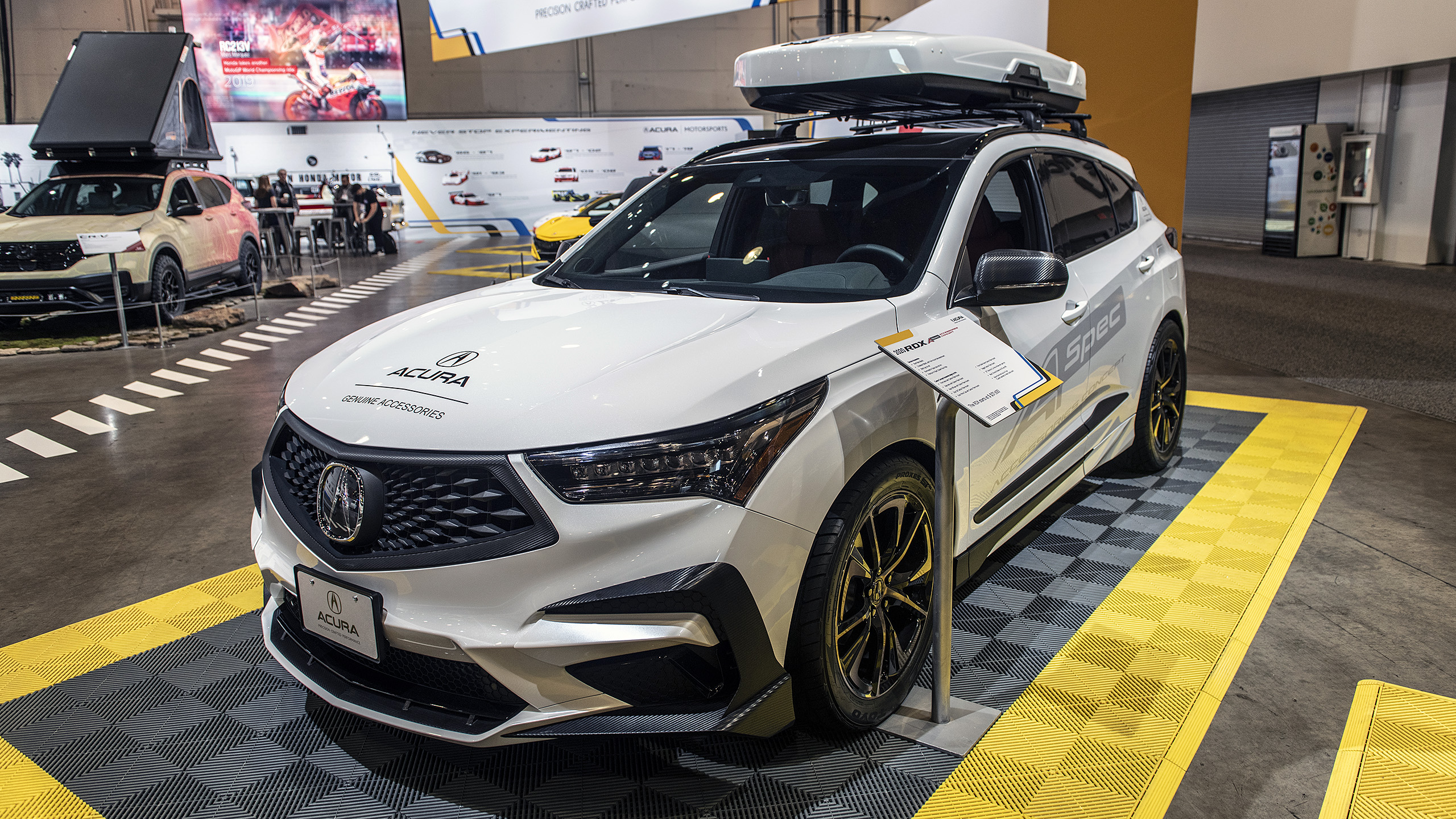 """Acura has brought quite a few interesting vehicles to the ongoing SEMA show, including a concept car called the Type S, a tuned version of the NSX supercar, and an SUV called the RDX A-Spec, which packs a range of options - """"for brightening up your day,"""" the company claims. Let's see what's in store."""