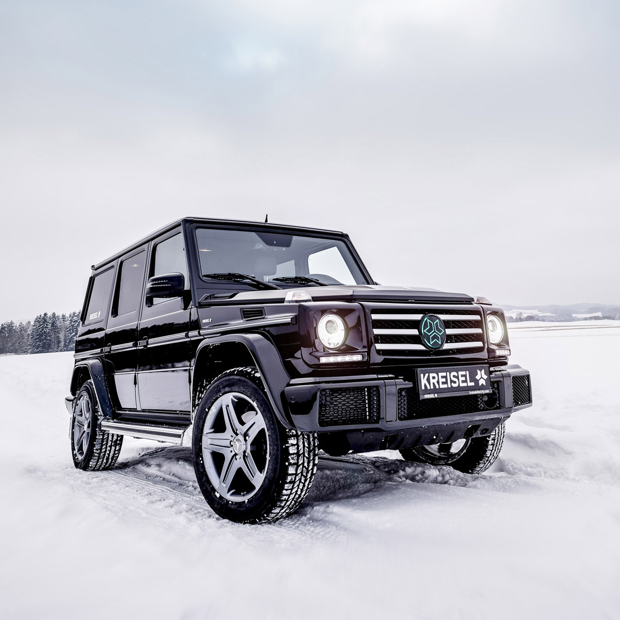 With its boxy exterior and fuel-hungry engine lineup, the G-Wagon is neither economical nor ecological, and thus a bit of a pariah in the modern world. Apparently, the company is well aware of the fact, because it is considering making it fully electric.