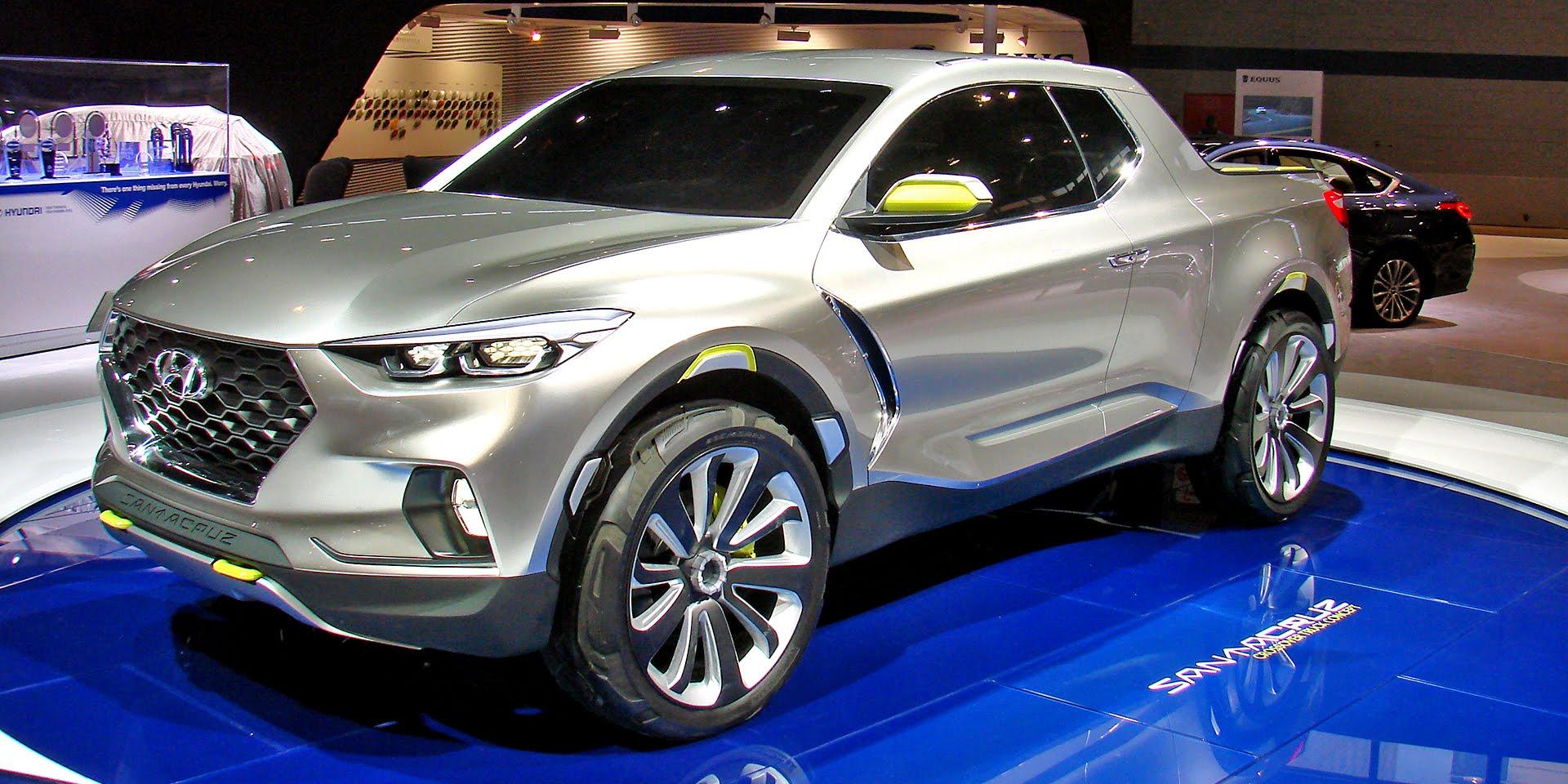 Hyundai Santa Cruz pick-up confirmed for 2021 launch