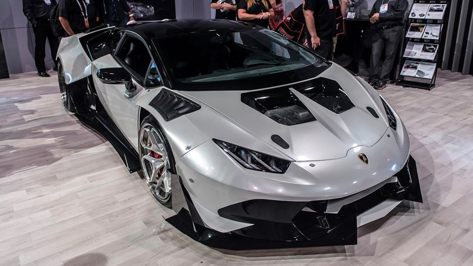Fitting the ten-cylinder, naturally aspirated mill of the Lamborghini Huracan LP610-4 with dual turbine chargers sounds like a natural thing to do, and tuners have been doing it a lot lately. But swapping it with a V8 TT?