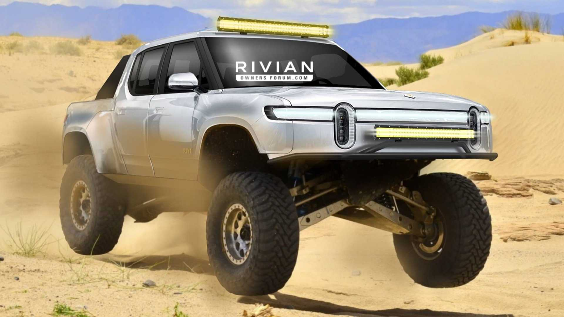 Rivian says it will soon unveil the sported-up variant of its all-electric pickup truck model, the R1T. The series will hit production soon primarily targeted at professional racing drivers – mainly those participating in desert endurance races, like the Baja 1000.