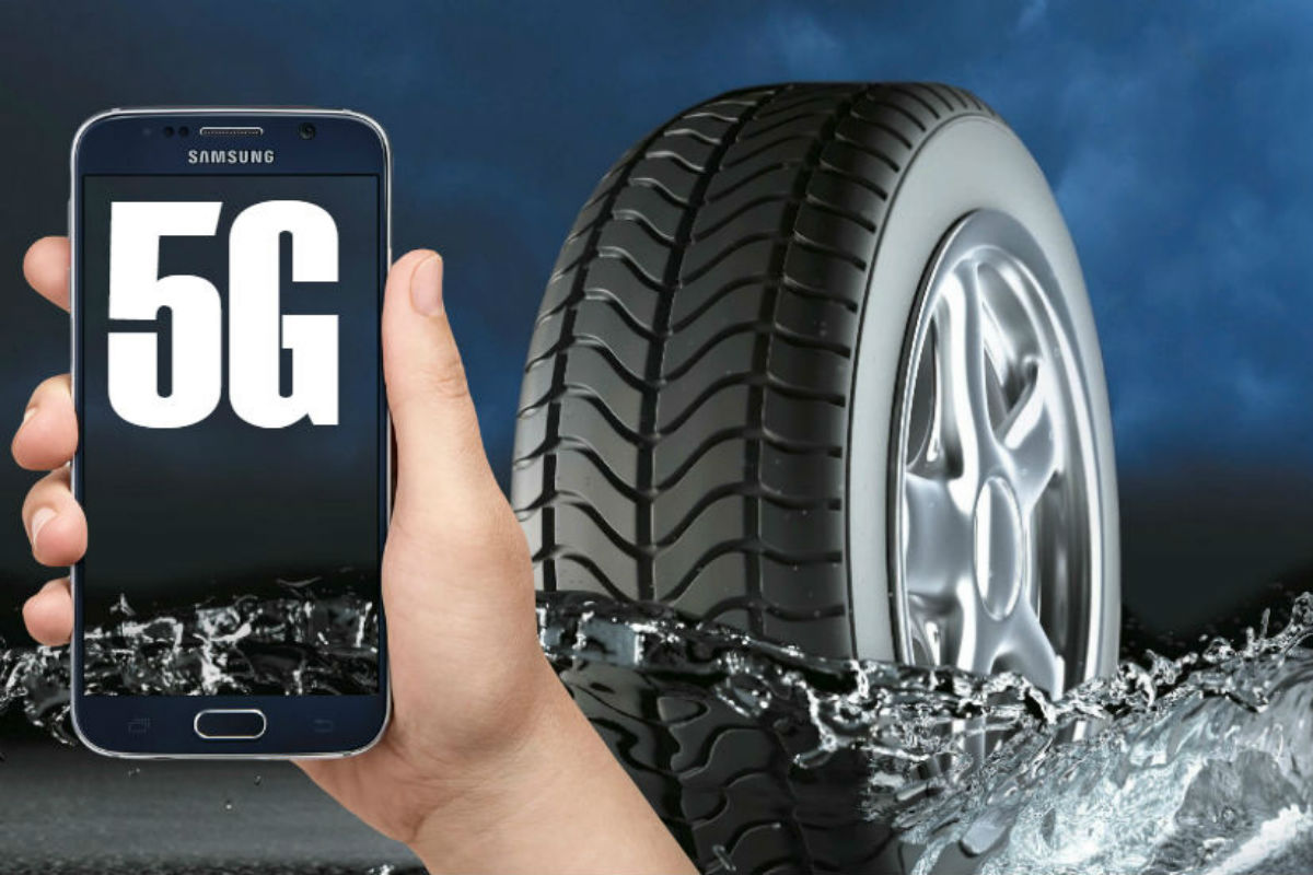 Tire manufacturer Pirelli has attended the 5G Path of Car-to-Everything Show with ADAS, a sophisticated tire monitoring system that can tell the car what kind of road surface quality to expect.