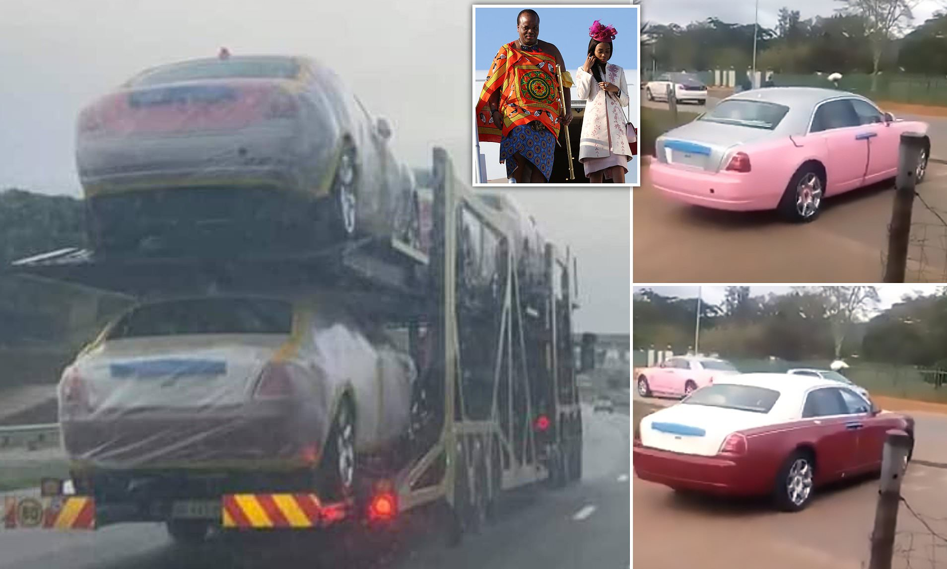 It doesn't matter who you are or where you stand in the society – a tow truck hauling 19 Roll-Royces at once is a rare sight, however you look at it. All the more so if you consider that all cars belong to the same man.