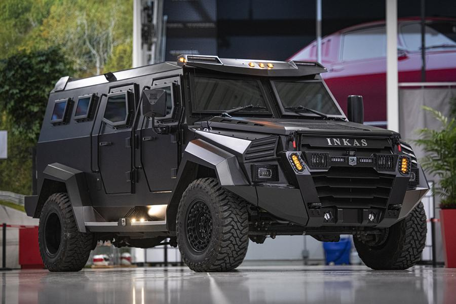 Inkas, a Canada-based armored vehicle manufacturer, has unveiled the 2020 Inkas Sentry Civilian Ford F-550, a bullet- and blast-proof SUV built with a large pickup truck at its base. Let us have a closer look, shall we?