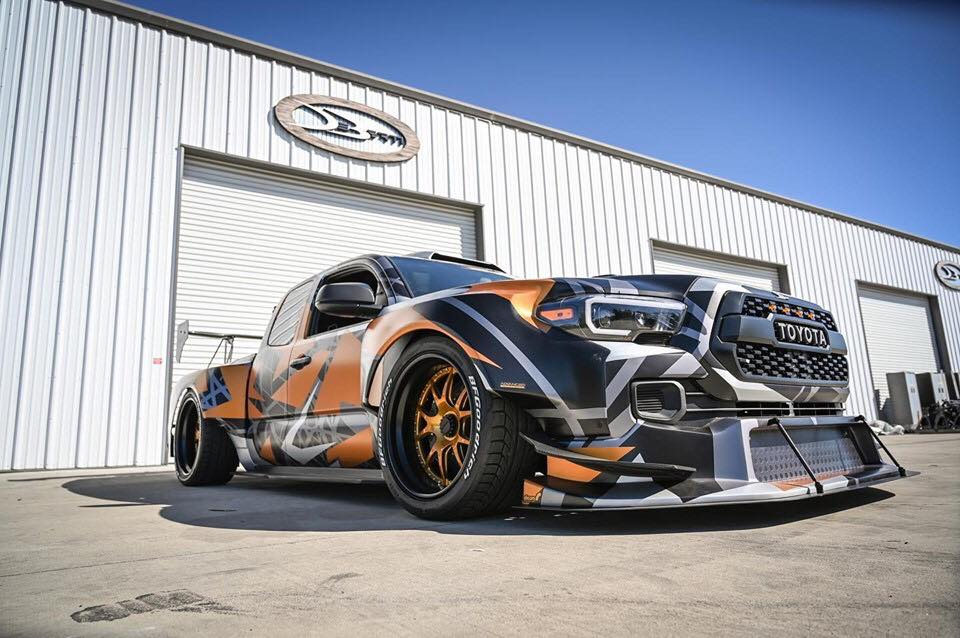 Jon Sibal is an industrial designer and 3D artist well known for his concept arts of various vehicles. Some of these are so popular that tuning shops implement them in real life, and this insane Toyota Tacoma 'racing truck' is one of the wildest so far.
