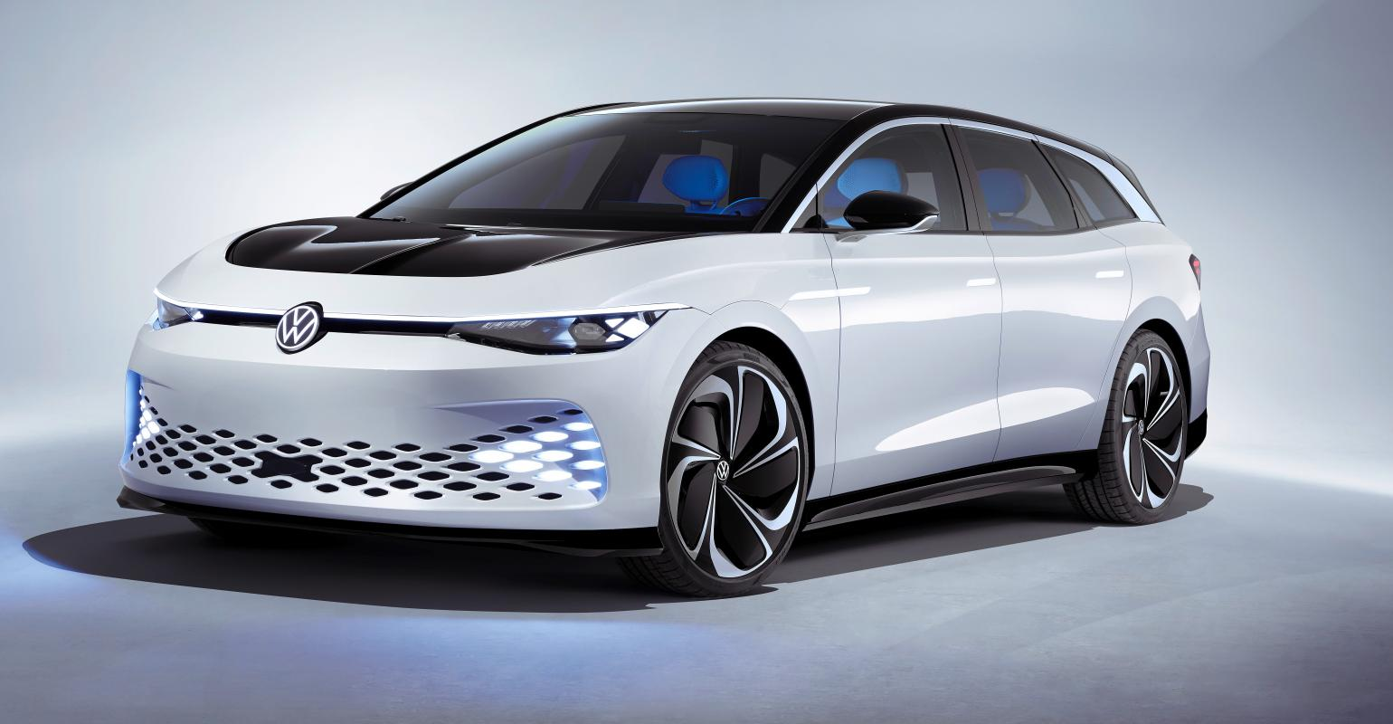 The company says the large electric wagon is a design study, but it might hit production eventually.