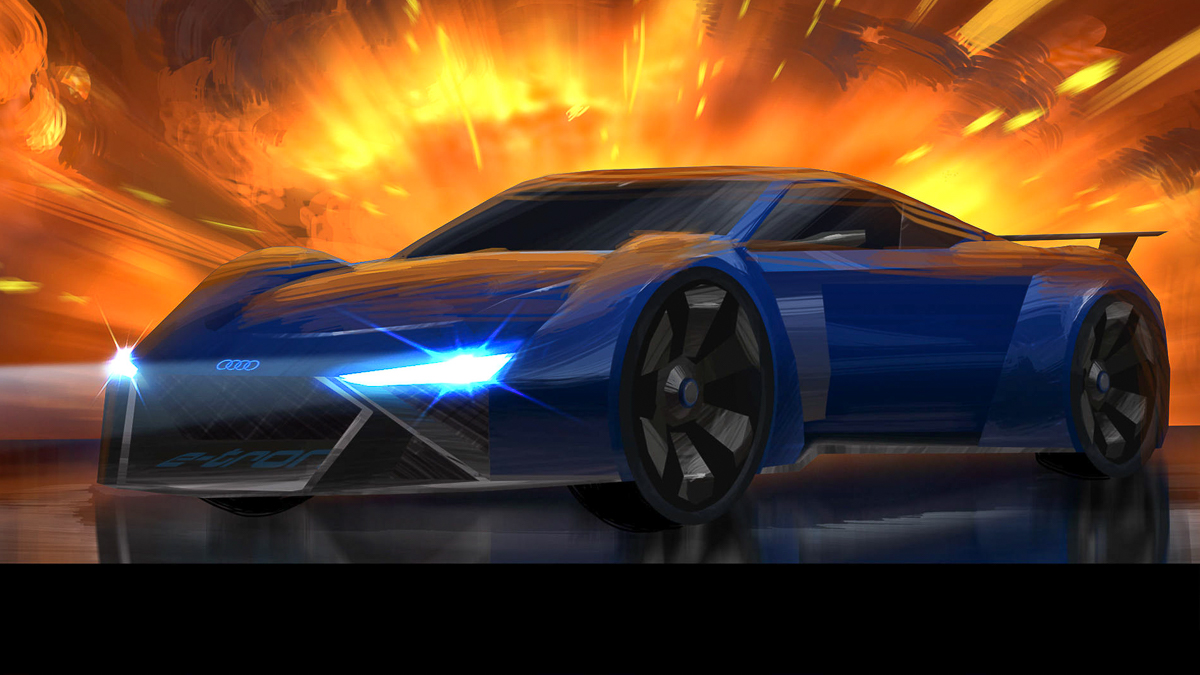 Audi has posted a trailer of Spies in Disguise, a children's animated movie due in theaters on December 25, 2019. The video shows an imaginary supercar called the RSQ e-tron.
