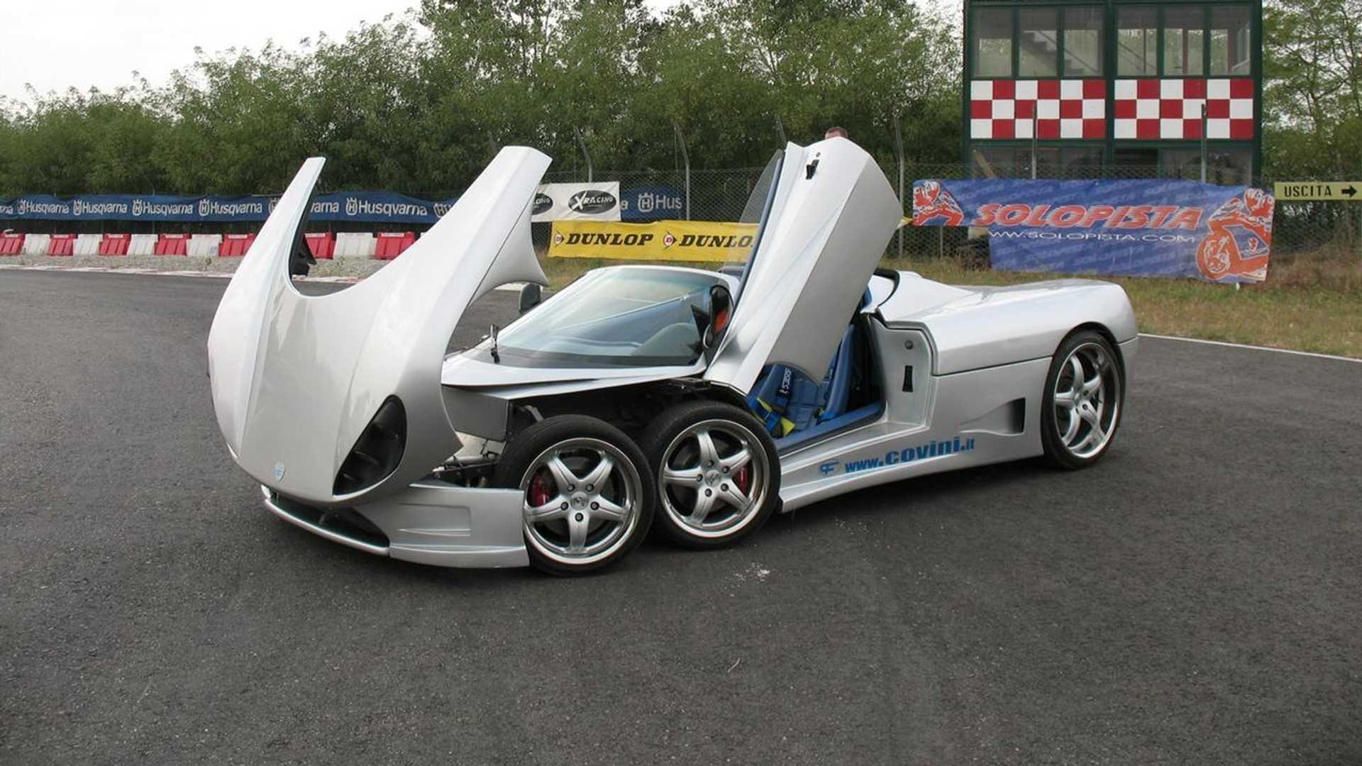 Перед вами Covini 6SW – единственный в мире шестиколесный суперкар, допущенный на общественные дороги.
