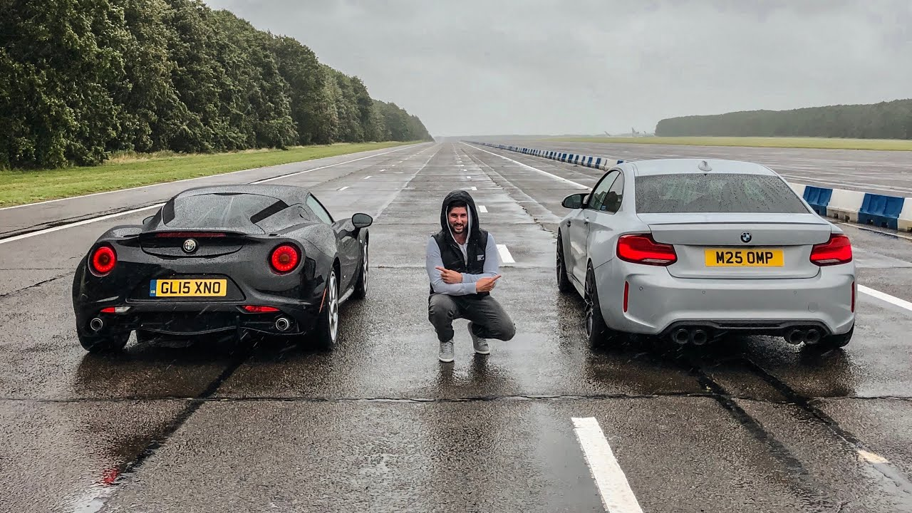 What would you say is more important, more horsepower or less curb weight? It's all relative, of course, but these two guys from Great Britain still wanted to find out.