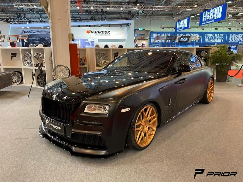 The German tuner had been teasing us with 'making-of' videos for quite a while, so seeing the finished Wraith at the 2019 Essen Motor show in Germany was very welcome.