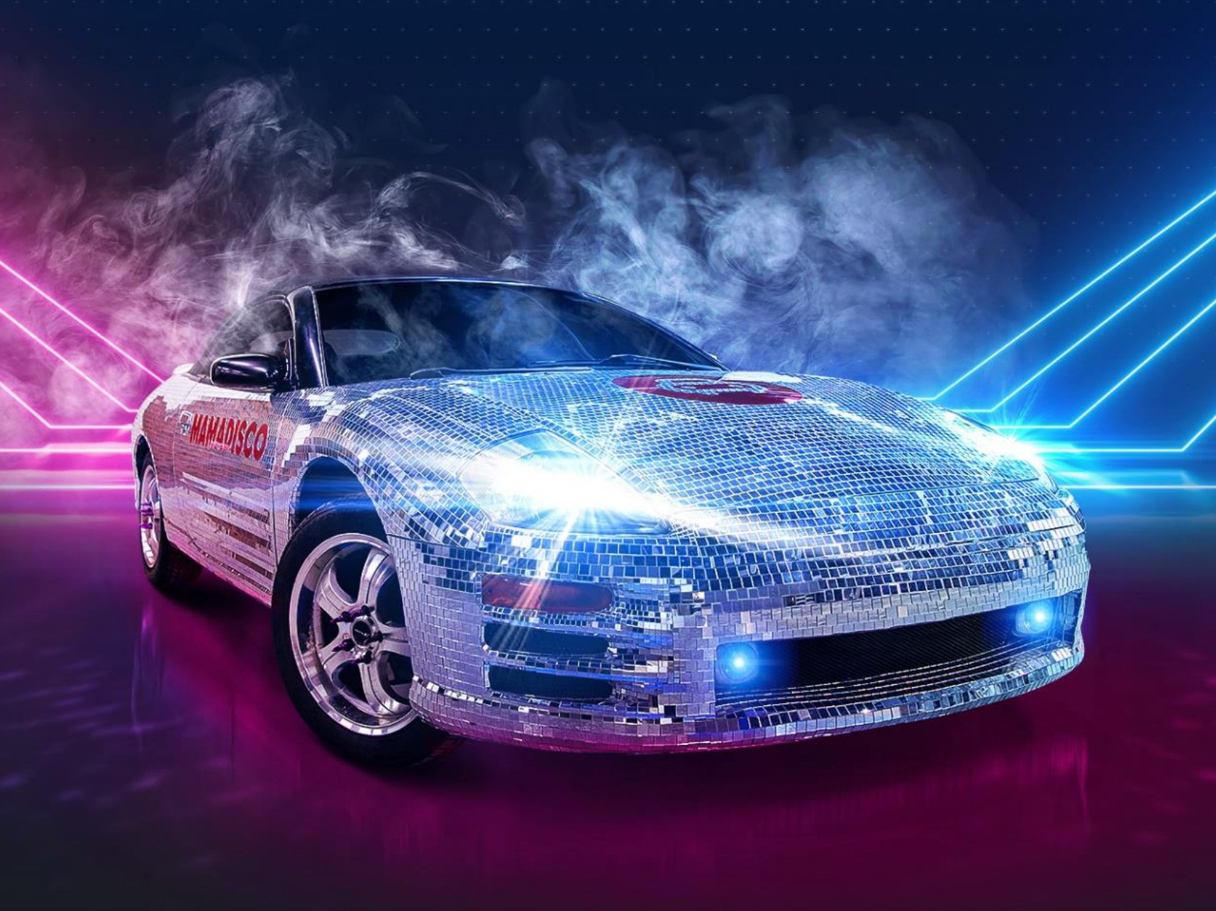 Car tuning takes weird shapes sometimes. Russian tuner Garage54 has recently published a YouTube video showing its latest project: a Mitsubishi Eclipse covered with 65,000 tiny mirrors.