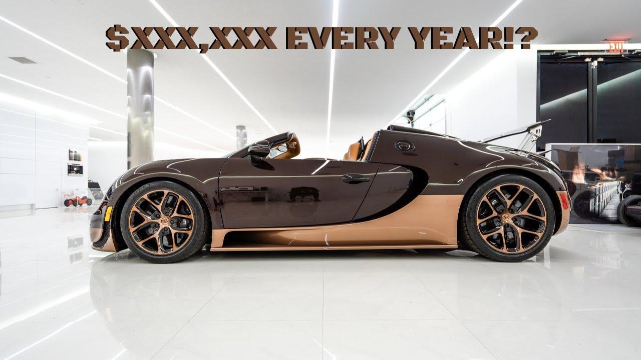Bugatti Veyron – один из самых дорогих автомобилей в мире. Однако купить гиперкар – это полдела: его ещё нужно обслуживать.