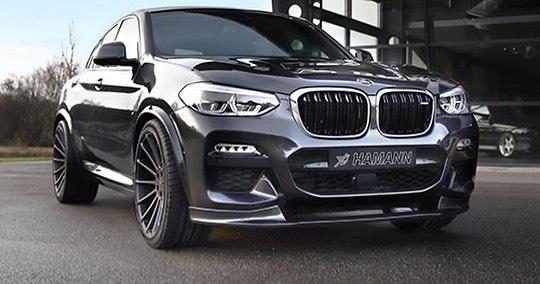 Немецкий тюнинг-центр Hamann Motorsport недавно с помпой презентовал боди-кит и новые легкосплавные диски для кроссовера BMW X5 (G05). На фоне всей этой шумихи мы совершенно упустили из виду, что аналогичный комплект достался и младшему BMW X4.