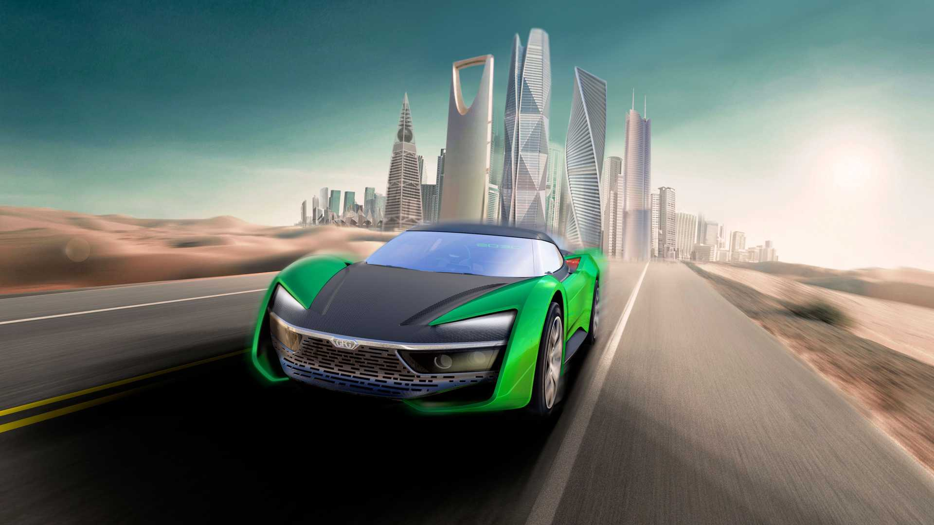 Giorgetto Giugiaro himself has designed the off-road-capable supercar to show his vision on what such vehicles may look like in the 2030s.