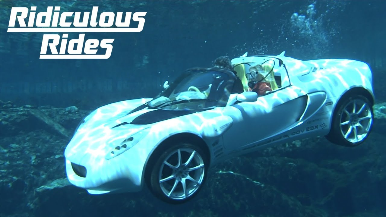 The latest YouTube video by Barcroft Cars reminisces about the unique 'scuba diving car' created by tuner Rinspeed back in 2008.