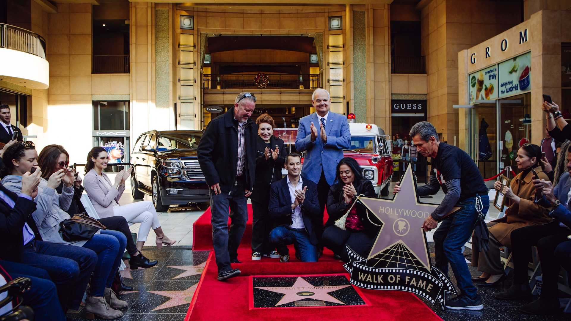 For the first time on record, a car, rather than a human actor, received a star all to itself on the Hollywood Walk of Fame. Everything clicks into place if you consider how many on-screen appearances it had.