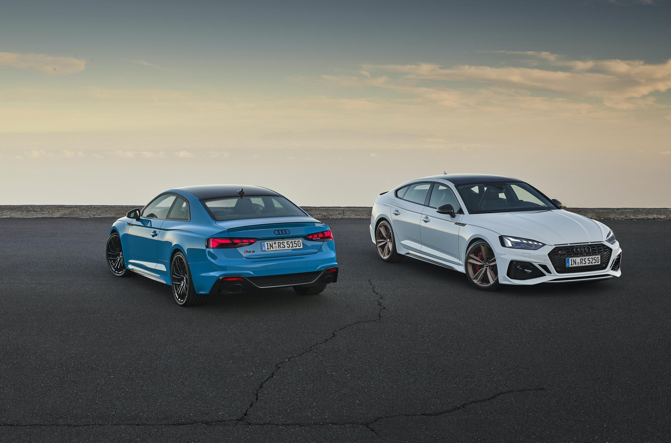 Following the launch of the updated A5 range three months ago, Audi has unveiled the facelifted RS5 and RS5 Sportback. These two are likely the last cars in the Audi RS performance range to get any updates this year.