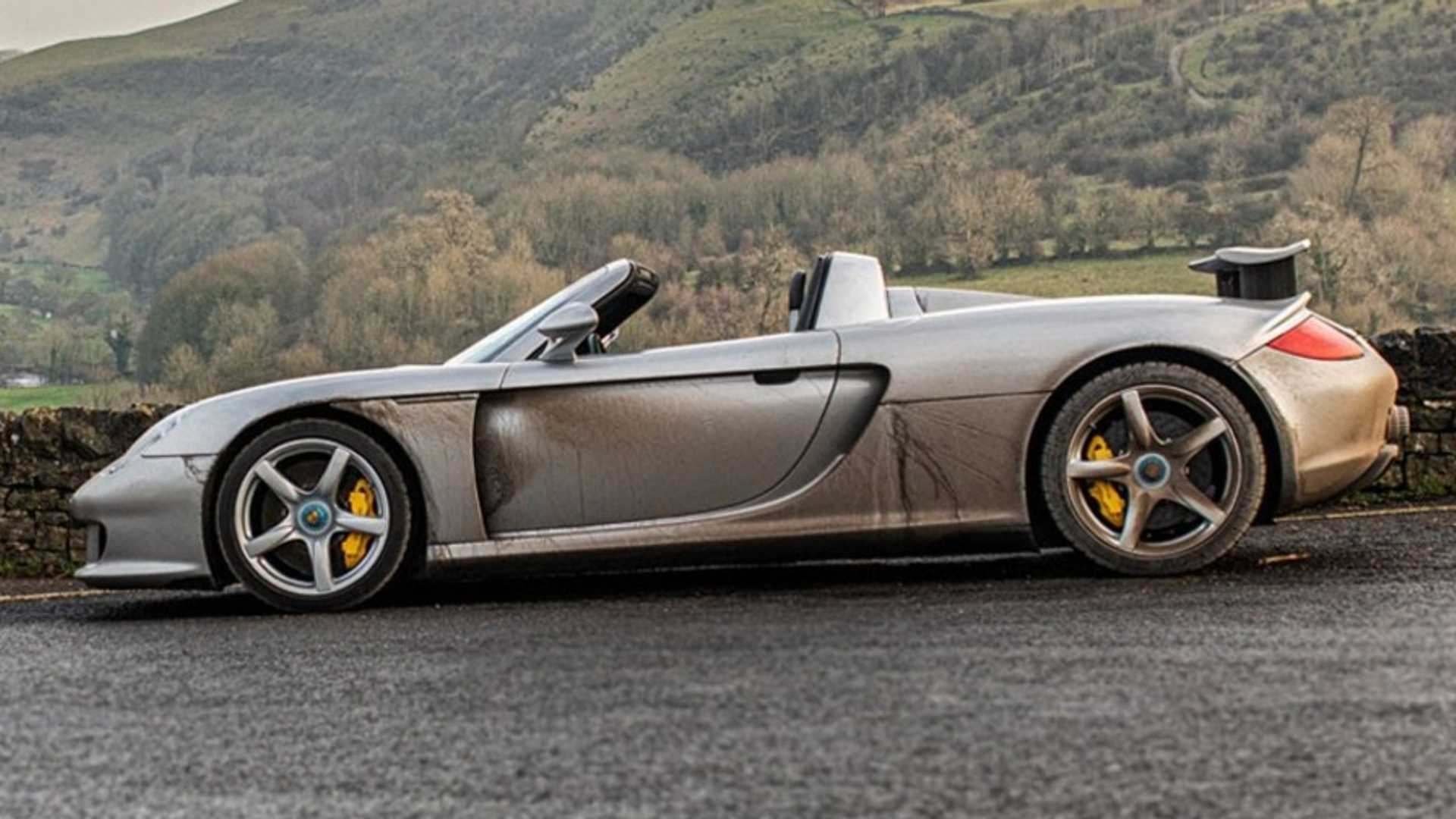 A unique 2004 Porsche Carrera GT with a troubled past just went up on sale for £399,995 (over 500,000 USD). What's so special about it to warrant parting with a sum as large as that?