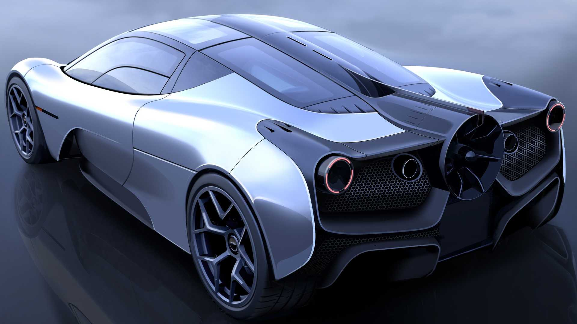 Gordon Murray, the creator of the original McLaren F1, announced several months ago that he wanted to produce a 'true' successor to the iconic supercar. After a series of sketches and schematics, he revealed the first 3D image of his dream vehicle today.