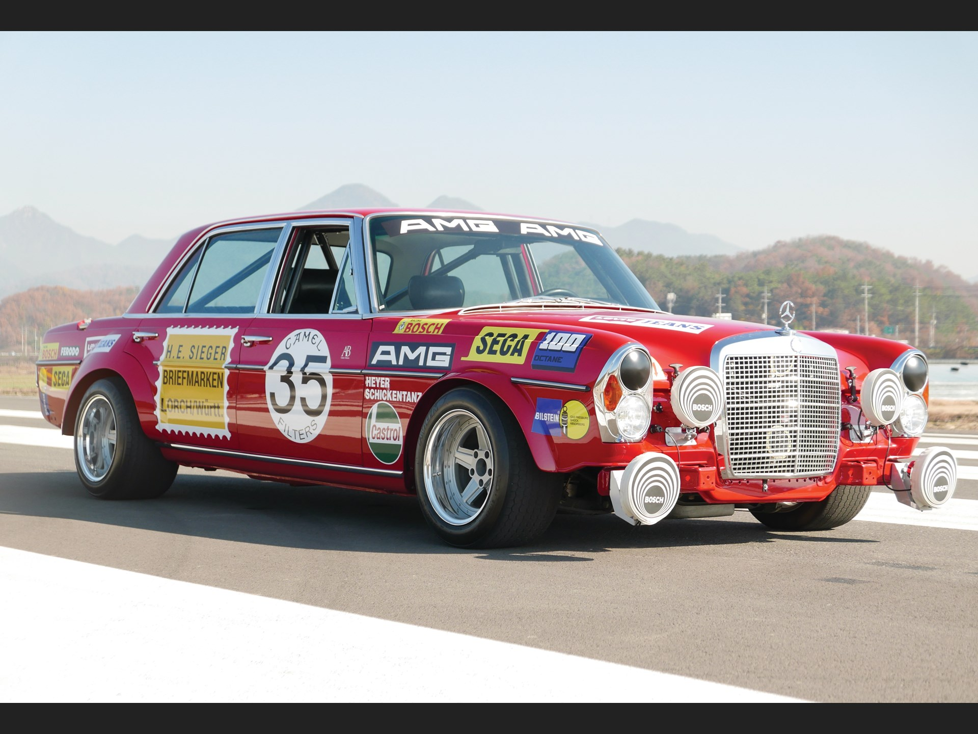 Not long ago, we told you about the Red Pig (German: Rote Sau) project by Reviva Inc. The U.S.-based auto restoration shop attempted to recreate the legendary AMG racing saloon for the 2019 SEMA show. Today, another tuner unveiled its own version of the historic vehicle.