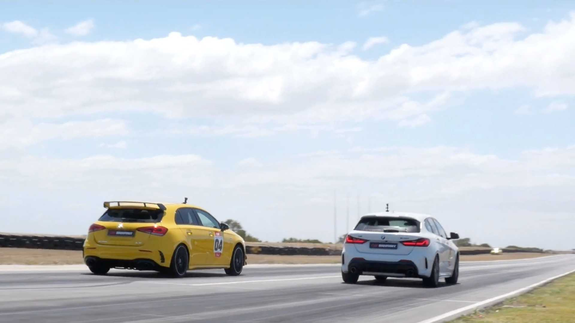 The BMW M135i and the Mercedes-AMG A35 may be the cheapest performance cars on offer from the two German marques, but both are pretty mean, nonetheless. The question is, which one is faster?