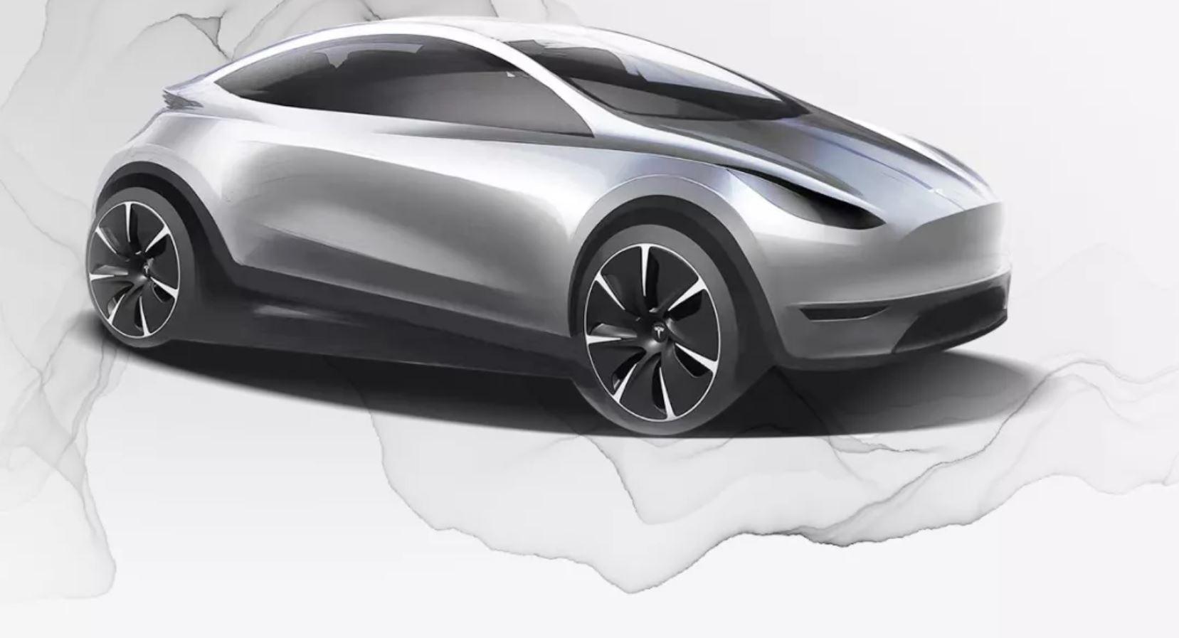 Появился первый эскиз будущей новинки фирмы Tesla Motors. Вероятно, электромобиль будут выпускать в Китае для разных рынков. Судя по изображению, это компактный хэтчбек, который окажется самой доступной моделью марки.
