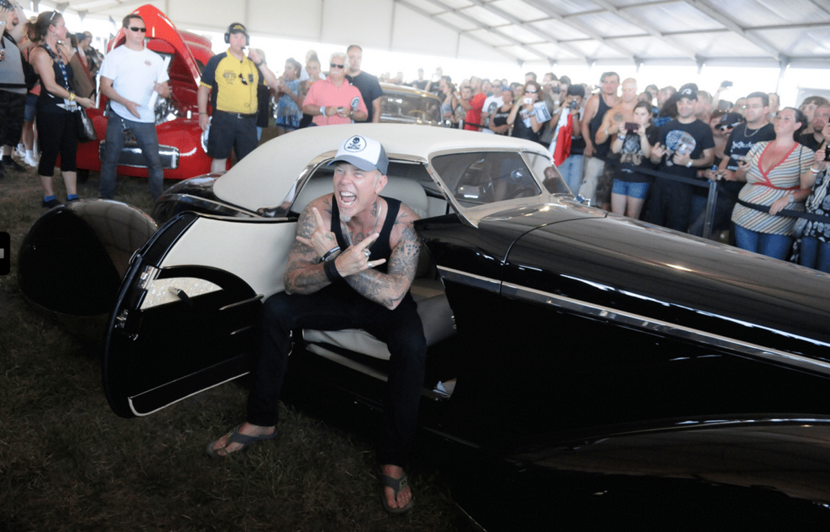 Metallica co-founder and musician James Hetfield, also known for his passion for rare and unique cars, will be arranging an exhibition to showcase his collection in March through October.