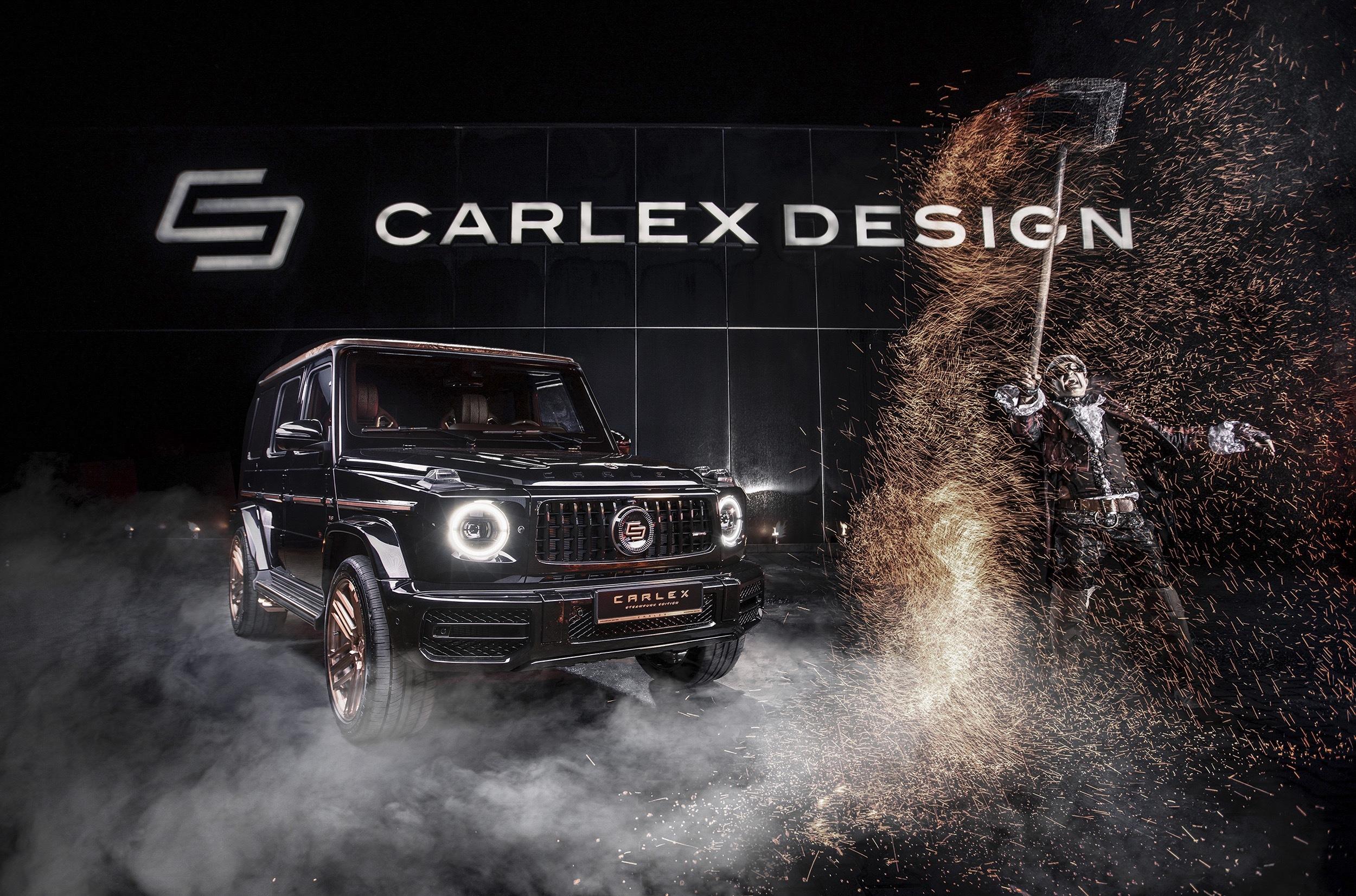 Польские мастера из Carlex Design представили Mercedes-AMG G 63 в эксклюзивном исполнении Steampunk Edition. Внедорожник получил медную накладку на крышу и салон с деревянным полом и декором из золота, кожи и замши. Всего таких машин выпустят 10 штук, на постройку каждого требуется не меньше 5200 часов.