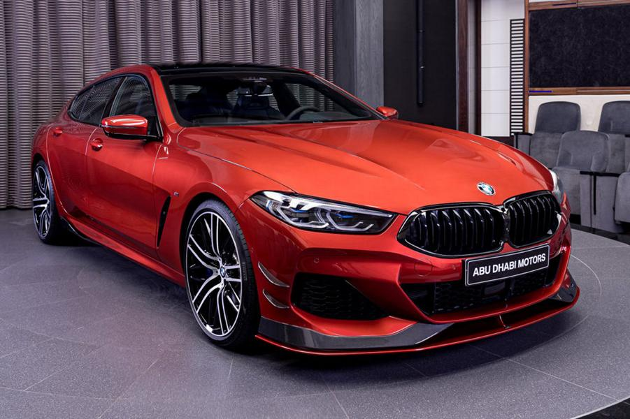 Granted, the exterior of the BMW M8 xDrive flagship coupe may appeal to more folks out there than that of the 840i Gran Coupe, but paying €170,000 just for the looks, as opposed to €95,000? As BMW Abu Dhabi demonstrates, it might be not worth it.