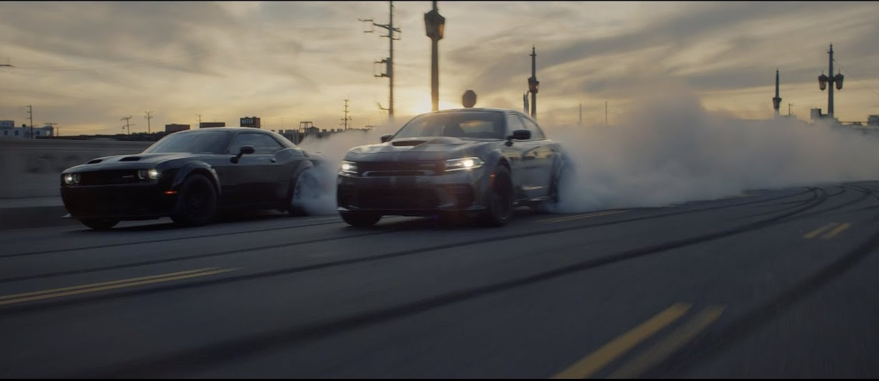 The ninth instalment in the Fast & Furious movie franchise is coming up soon, and Dodge decided to shoot a promo video for it. Aside from a few cars familiar to most of us, the footage briefly reveals the still-unreleased Durango SRT Hellcat.