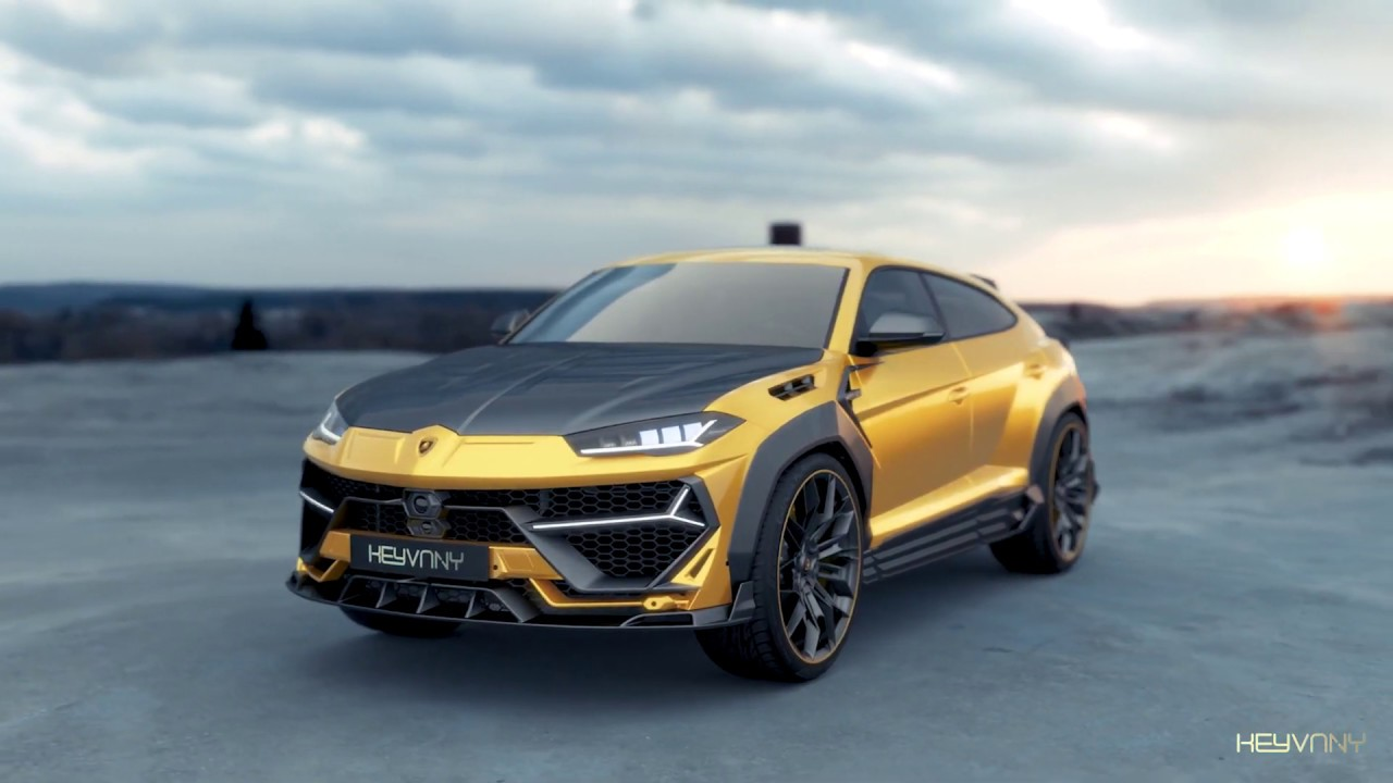 Keyvany has unveiled a tuning project named Keyrus. Aside from a crazy-looking body kit, the Lamborghini SUV gains a whopping 182 hp (135 kW) in this new version.
