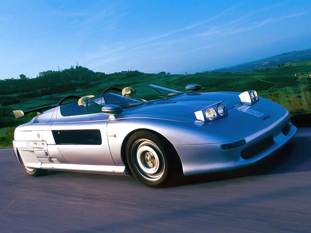 Bring A Trailer has a real exotic on sale right now. Called the Italdesign Aztec and built in 1988, the two-seater features individual cabins for the driver and the passenger.