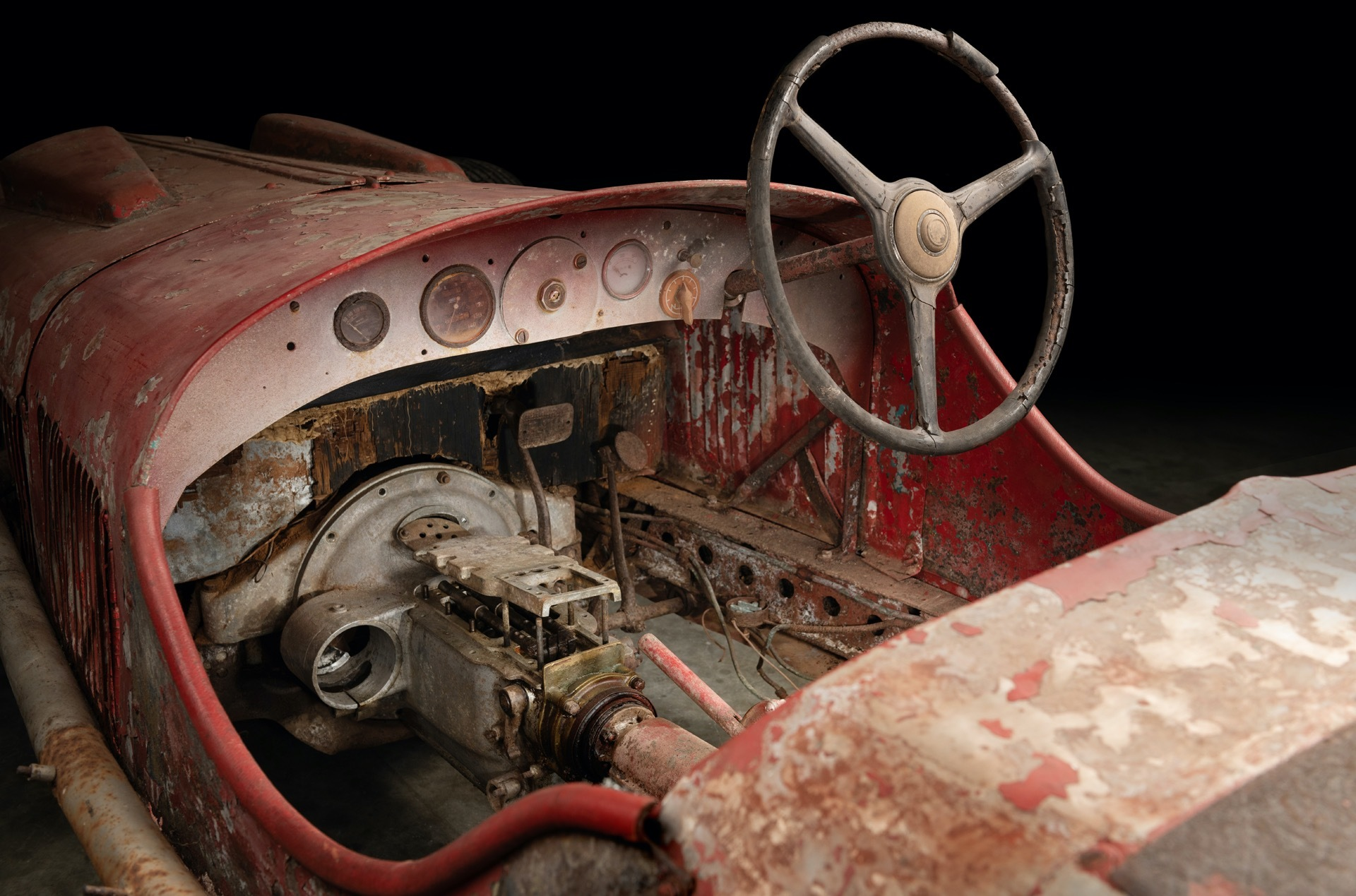 The British restoration shop will attempt to rebuild the nonagenarian roadster that once belonged to Benito Mussolini himself.