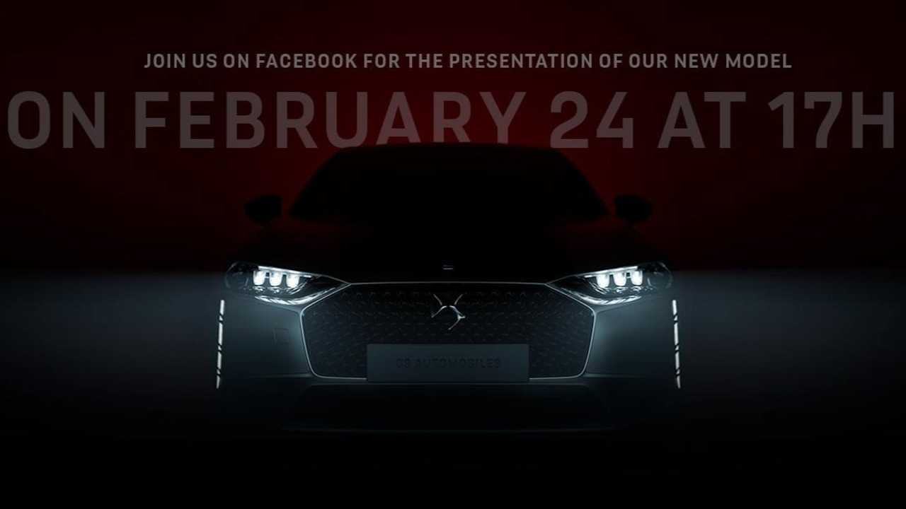 Citroen's premium subdivision has posted a teaser video of its upcoming business sedan/saloon that will top the range.