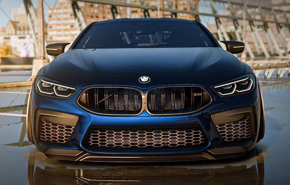 Более брутально заниженного BMW M8 нам видеть еще не доводилось! Инженерам из спортивного подразделения BMW M, наверняка, тоже.