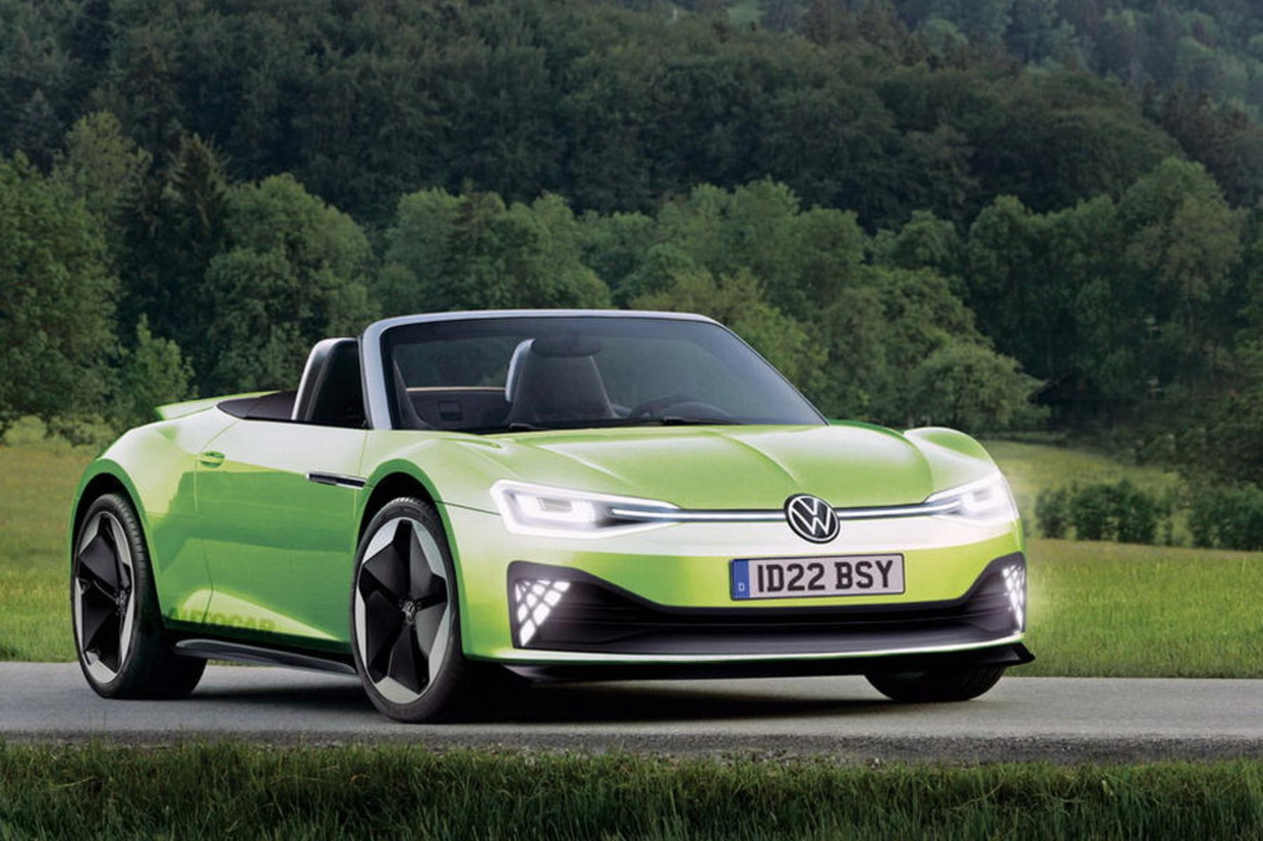 The German automotive giant is going to design a high-end sports EV based on the ID.R chassis and tech (see video). The car will boast a brand-new traction battery design and come out in roadster and coupe guises, the manufacturer claims.