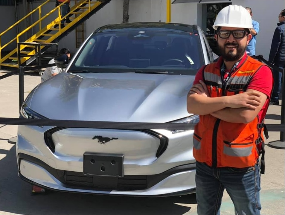 The Ford factory in Mexico has produced the first pre-production copy of the Mustang Mach-E, company's controversially named battery SUV.