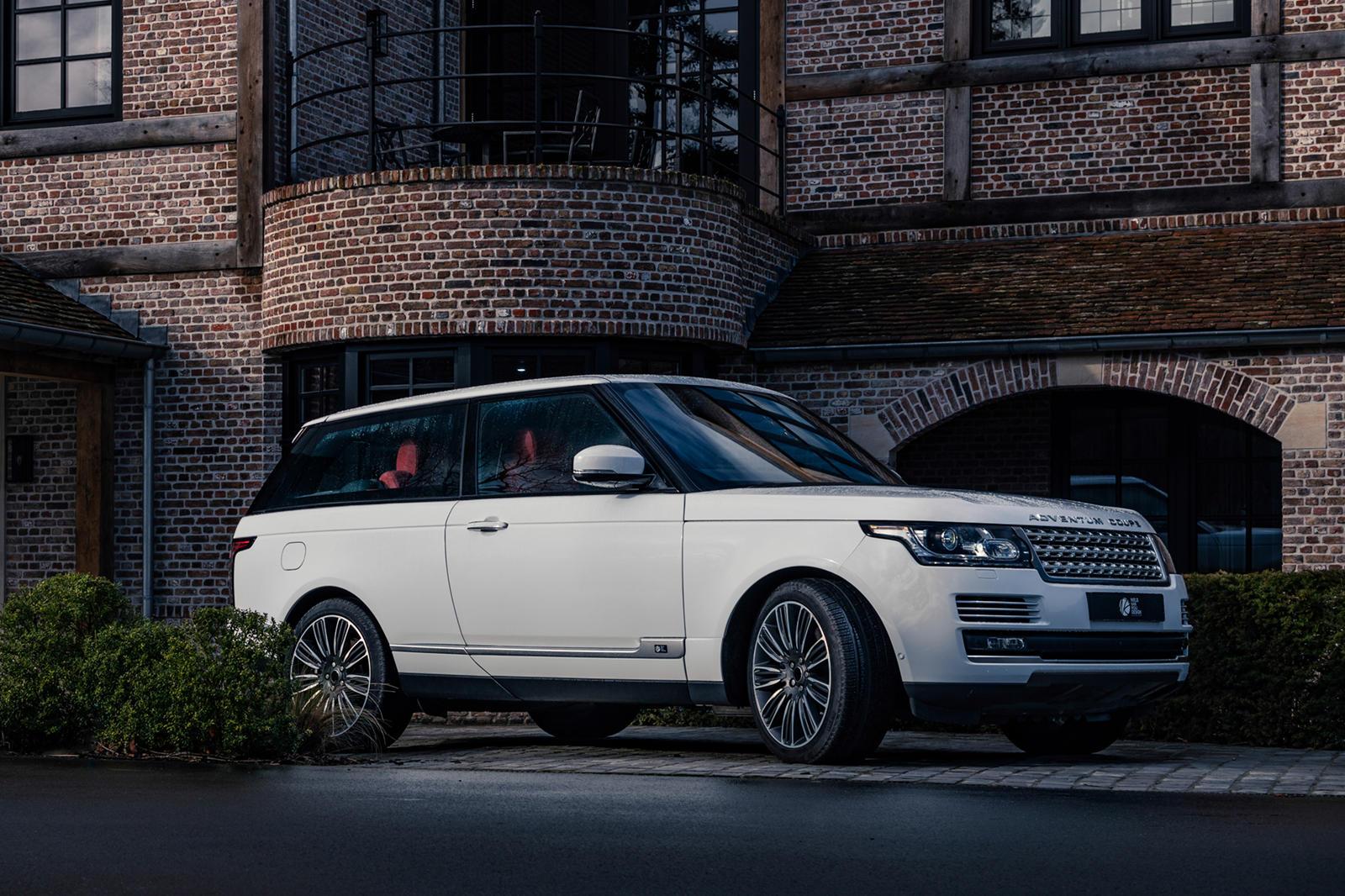 Лондонская студия Niels van Roij Design показала проект Adventum Coupe – внедорожник Range Rover с трёхдверным кузовом.