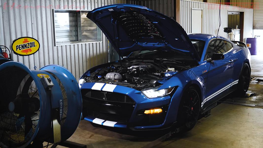 In September last year, Hennessey Performance said it wanted to squeeze 1,200 horsepower (895 kilowatts) out of the Mustang Shelby GT500. The work is still in progress, but the intermediate results are quite impressive.