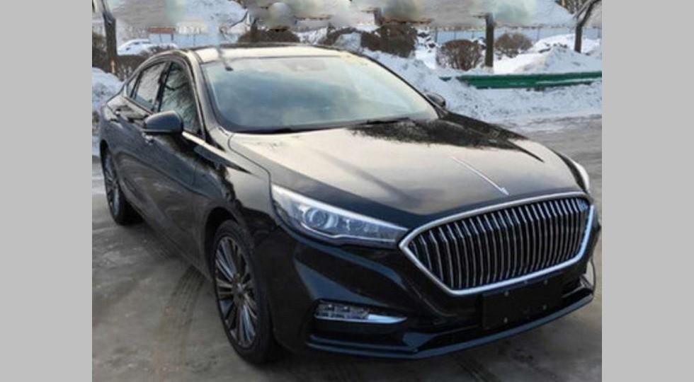 Hongqi is getting ready to launch its H5 premium saloon originally based on the Mazda 6 tech.